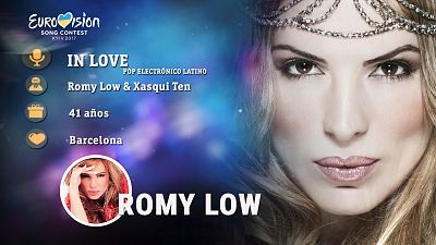 "Eurovisión 2017 - Romy Low canta ""In Love"""