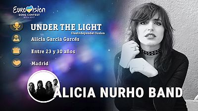 "Eurovisión 2017 - Alicia Nurho Band canta ""Under the light"""