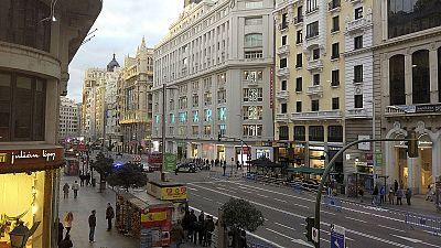 Empresarios madrileños apoyan la peatonalización  permanente de la Gran Vía