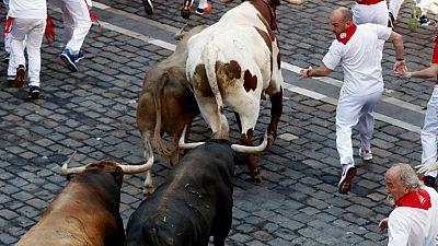 Sanfermines 2018 - Emocionante quinto encierro con los toros de Núñez del Cuvillo - 11/07/18 - Escuchar ahora