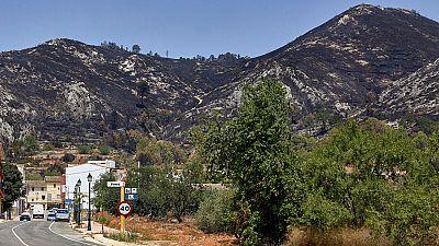Las mañanas de RNE - Dengra (UME) avanza que el incendio de Llutxent quedará controlado hoy - Escuchar ahora