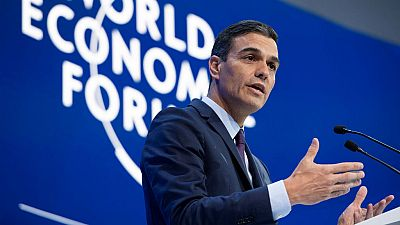 """24 horas - Pedro Sánchez en Davos: """"La economía debe estar al servicio de las personas"""" - escuchar ahora"""
