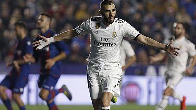 Tablero deportivo - Los goles del Levante U.D. 1 Real Madrid 2 - Escuchar ahora