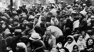 El exilio republicano español en Argeles sur Mer, Francia