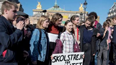 14 horas - Las protestas de los jóvenes contra el cambio climático llegan al Parlamento de Estrasburgo - Escuchar ahora
