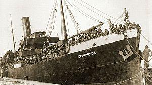 El Stanbrook,el capitán Dickson y 3.000 refugiados españoles