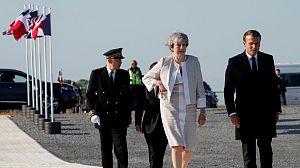 Actos de conmemoración del desembarco de Normandia