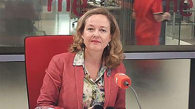 """Las mañanas de RNE con Íñigo Alfonso - Calviño: """"Nadie ve, a corto plazo, que se vaya a producir una recesión en Europa y menos aún en España"""" - Escuchar ahora"""