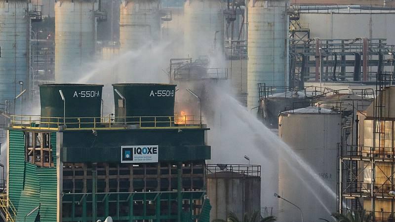 Boletines RNE - Son dos los fallecidos tras la explosión de una petroquímica de Tarragona - Escuchar ahora