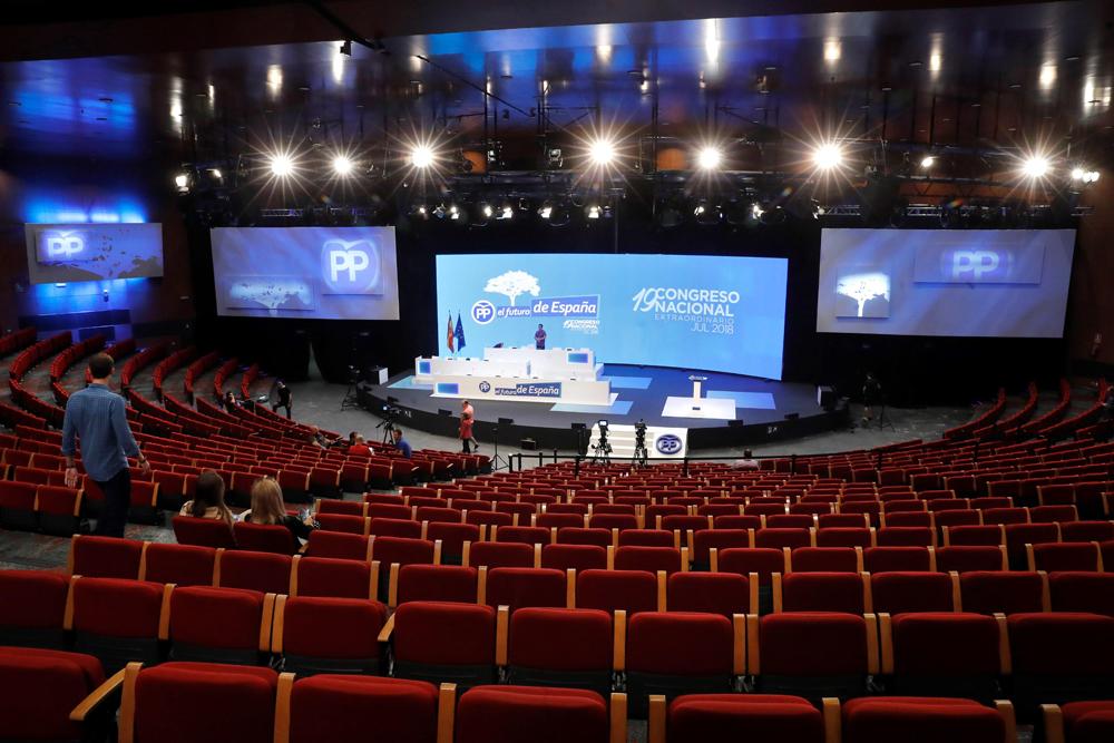 PP|XIX Congreso Nacional Auditorio
