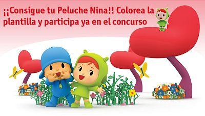Concurso ¡Colorea y gana tu nuevo peluche Nina!