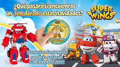 Concurso ¡Concursa con Super Wings y consigue tu Súper Robot Jett!