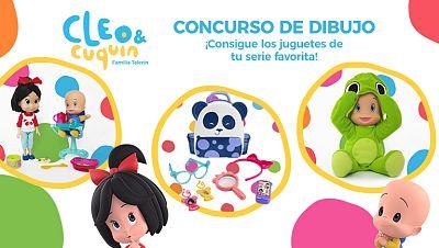 Concurso ¡Dibuja con Cleo & Cuquín y gana fantásticos premios!