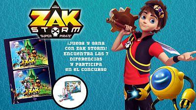 Concurso ¡Juega con Zak Storm y gana!