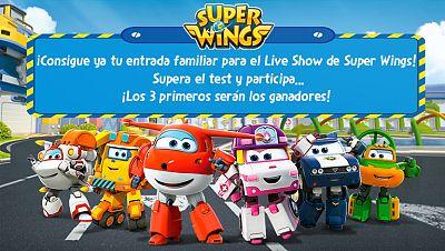 Concurso ¡Participa y consigue tu entrada familiar para el fabuloso Live Show de Super Wings!