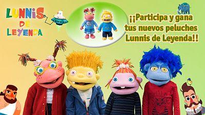 Concurso ¡Participa y gana tus nuevos peluches musicales de Lunnis de Leyenda!