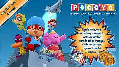 Concurso 'Pocoyó llega al cine...¡¡consigue tu entrada familiar para el estreno!!'
