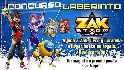 Concurso ¡Resuelve el laberinto y gana con Zak Storm!