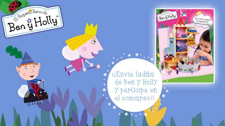 Concurso 'El castillo mágico de Ben y Holly III'