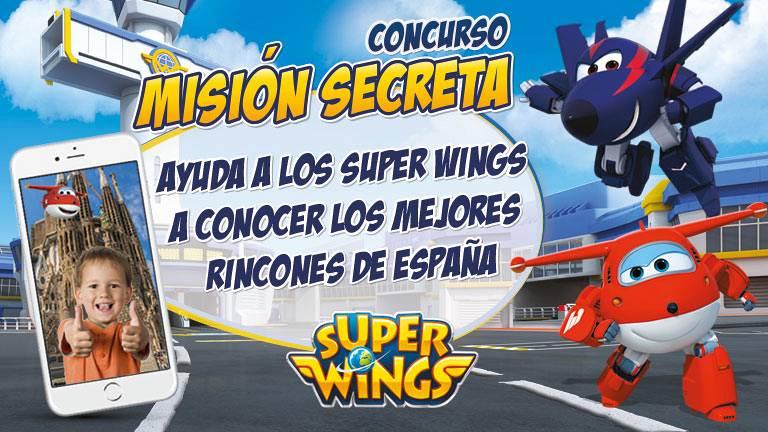 Concurso ¡Super Wings Misión Secreta!