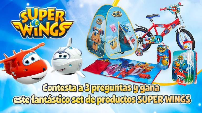 Concurso ¡Supera el test y gana con Super Wings!