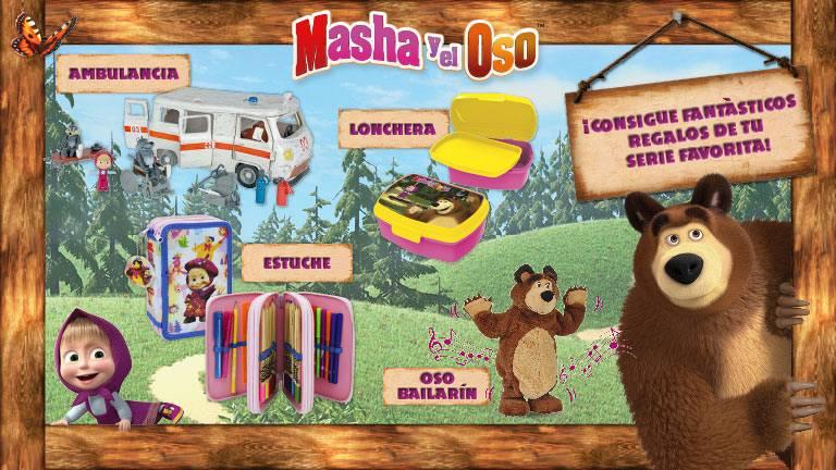 Concurso ¡Vuelve al cole con Masha y su amigo Oso!