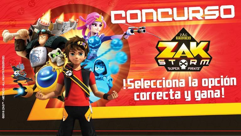 Concurso Zak Storm...¡supera el reto y gana!