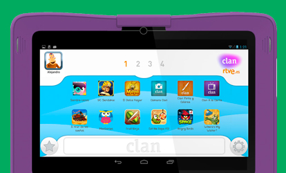 Apps Clan para Smartphone, Tablet y Smart TV - RTVE es