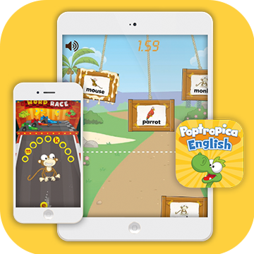 Poptropica English Word Games App