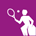 icono de Tenis en silla de ruedas