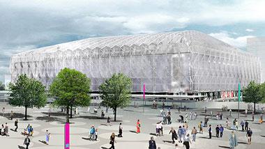 Imagen de la sede basketball-arena