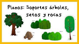 DescargableTipos de Planos - Soportes árboles, setos y rocas