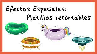 DescargableEfectos Especiales - Platillos recortables