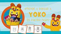 ¡Aprende a dibujar a Yoko en 4 pasos!