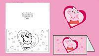 ¡Felicita San Valentín con Peppa Pig!