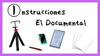 Instrucciones para hacer un Documental