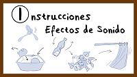Instrucciones para hacer efectos de sonido