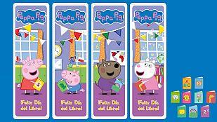 DescargableHaz tus propios marcalibros de Peppa Pig