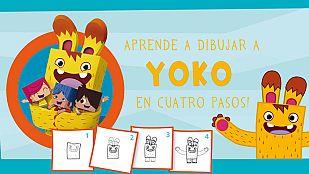Descargable¡Aprende a dibujar a Yoko en 4 pasos!