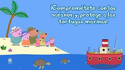 ¡Ayuda a salvar a las tortugas marinas!