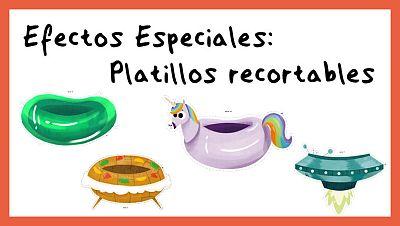 Efectos Especiales - Platillos recortables