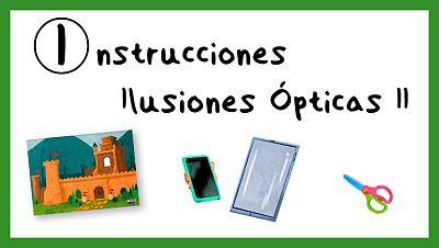Instrucciones para crear Ilusiones Ópticas II