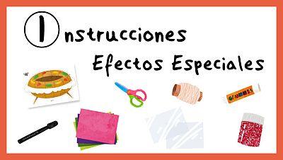 Instrucciones para hacer efectos especiales