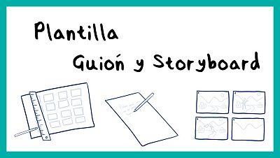 Plantilla para hacer tu storyboard