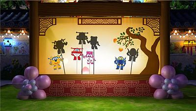 Sombras Chinas Super Wings