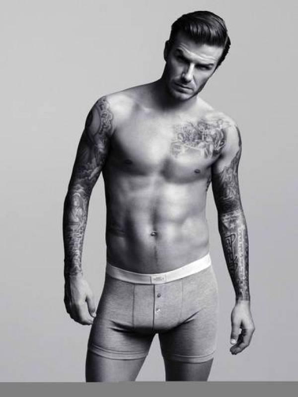 Beckham en calzoncillos