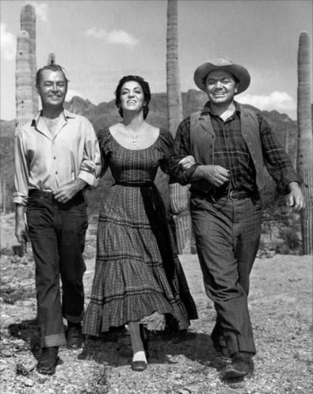 Ernest Borgnine en 'Arizona, prisión federal'