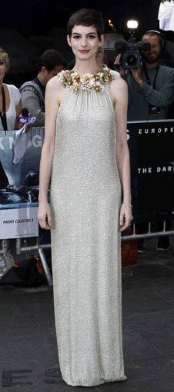 Anne Hathaway en Londres