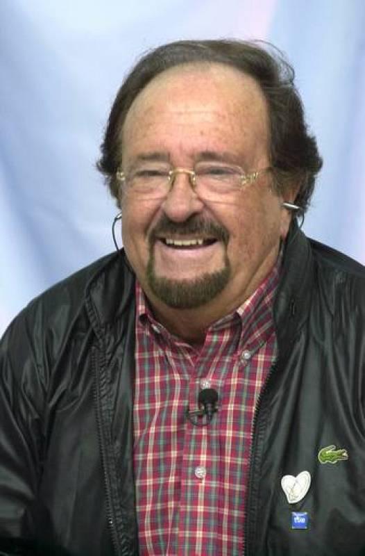 José Luis Uribarri  en una presentación en TVE.
