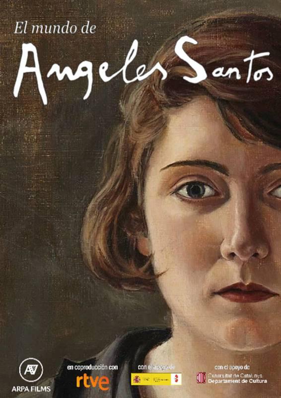 """""""El mundo de Ángeles Santos"""" es un retrato de la pintora surrealista Ángeles Santos"""
